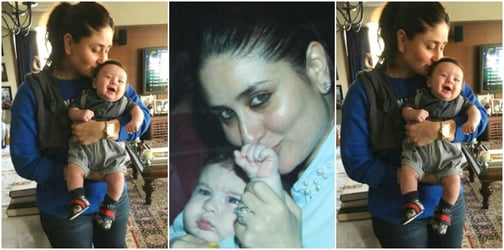 You'll be surprised to know why Taimur keeps pushing his mother Kareena away!