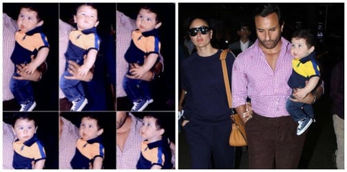 Proven! Little Taimur has a better pout than mommy Kareena Kapoor Khan