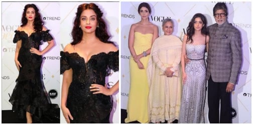 Vogue Beauty Awards: Bachchan bahus and betis step out in their fashionable best