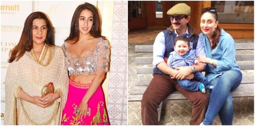 Mum Amrita Singh is miffed with Saif and Kareena for THIS controversial reason!
