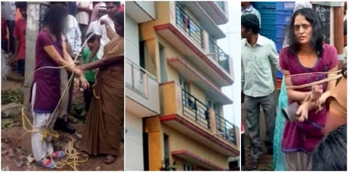 Bengaluru woman throws her 9-year-old daughter from the terrace twice!