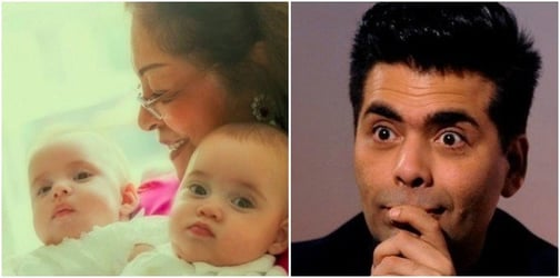 Karan Johar is extremely concerned for his kids because of their nannies!