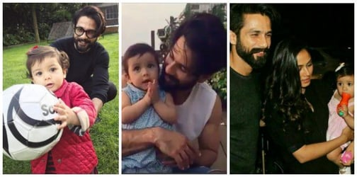 This picture of Shahid with daughter Misha has an important parenting lesson