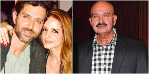 Dad Rakesh Roshan reveals the REAL reason Hrithik and Sussane are still friends!