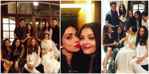 Bollywood's mommy brigade comes together to celebrate Sridevi's 54th birthday!