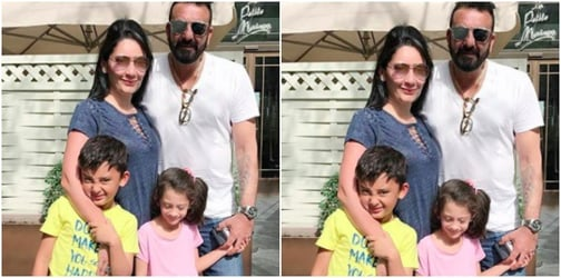 Strict dad Sanjay Dutt doesn't want son Shahraan to do THIS ever!