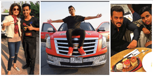 Meet Rashed Belhasa, 15-year-old UAE billionaire, who has more money than all of ours put together!