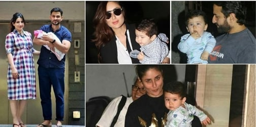 THIS is how Taimur reacted when he first saw newborn cousin Inaaya Kemmu!