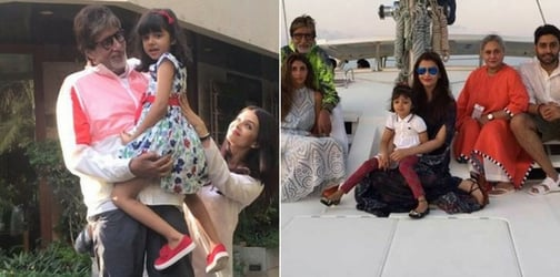 From a hand-painted card to a special party for daadaji, here's how Aaradhya is getting involved in Big B's big day!