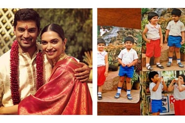 Deepika Padukone's simple, traditional avatar at best friend's wedding is too CUTE to miss!