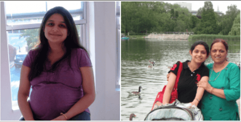 My mother-in-law helped me lose my post pregnancy weight and regain my confidence
