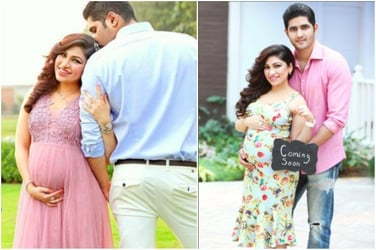 Look! Singer Tulsi kumar announces her pregnancy with adorable pics!