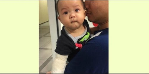 Mum reacts after baby gets scalded with boiling water because of maid