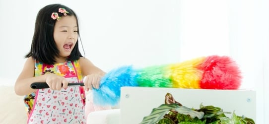 Need help at home? Here are some tasks for kids by age