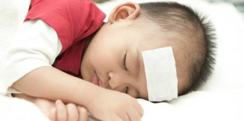 How to comfort a sick child who is up all night