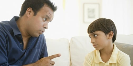 Empty threats: Doing this to your child only makes them misbehave more