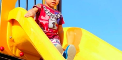 Toddler suffers burns from playground slide, mum shares important warning