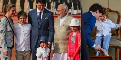 Justin Trudeau's son Hadrien spent a week in India taking hilarious pictures
