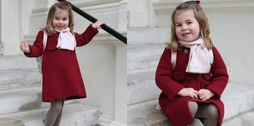Bilingual lessons for the two-year-old Princess Charlotte