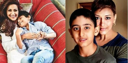 Sonali Bendre's Son Encourages Her In Cancer Battle; Her New Post On Instagram