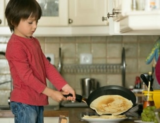 When do yo think is the right time to teach kids about doing chores?
