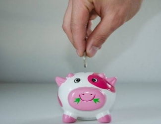 How much do you target saving every month?