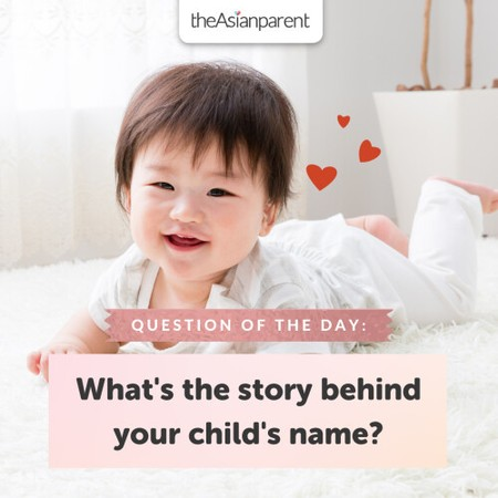 Is there a story behind your child's name? 👼🏻