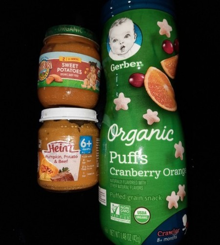 Baby food for 6 month+ babies