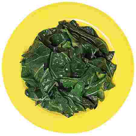 Recipe for spinach with minced garlic