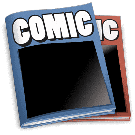 Young boy creates his own comic books!