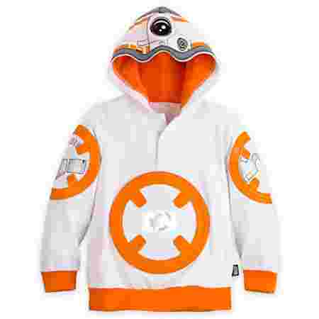 If you thought the last entry was amazing, this one is sure to blow you away. This BB-8 hoodie is perfect for boys and girls and is sure to get the attention of any Star Wars fan!