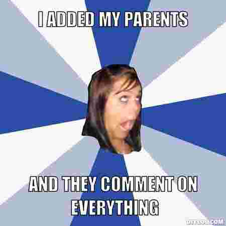 Things parents do that embarrass their kids