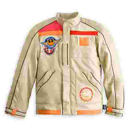 Remember the jacket that Finn and Poe both had the honor of wearing in the new film? Well, now your kids can own it! Keep your kids warm and cozy in style with this legendary jacket.