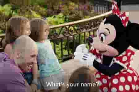 Shaylee and Minnie Mouse share a magical moment