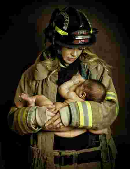 Firefighter Sanctioned After Wife was Photographed in his Uniform