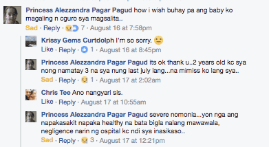 Pinay mom shares how she lost her 'healthy toddler' to severe pneumonia