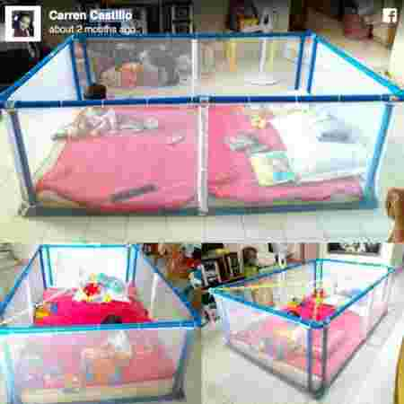 DIY-loving mom shares how to make your baby a playpen for only P1,000!