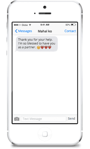 15 Text messages to send your wife to turn up the romance!