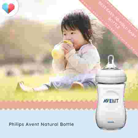 Philips Avent Natural Bottle - Best easy-to-hold baby bottle