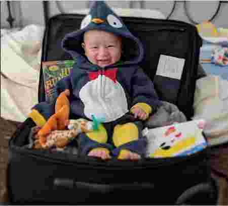 Janet Hsieh travelling