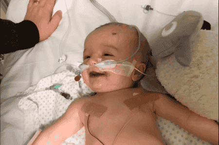 baby wakes from 5 day coma