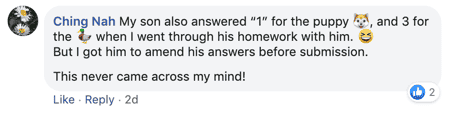 Primary 1 Girl Answers To Math Question Sparks Heated Debate Online On Creativity