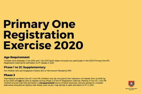 Primary 1 Registration For 2021 Moves Online: What Parents Should Know