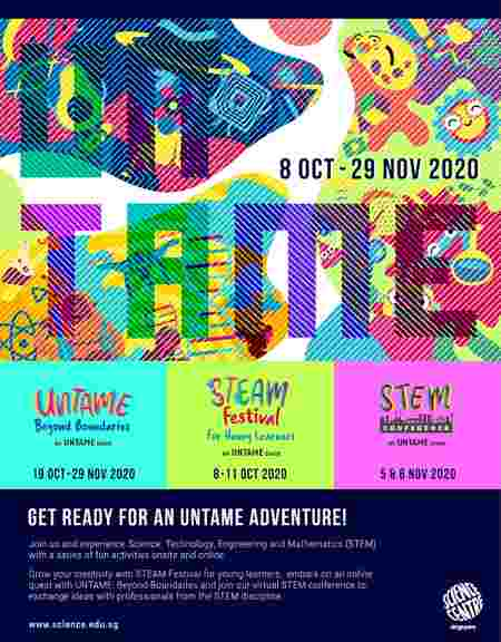 September School Holiday Activities for the Family at Science Centre Singapore