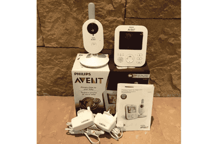 Best baby monitors in Singapore - PHILIPS AVENT Digital Video Baby Monitor