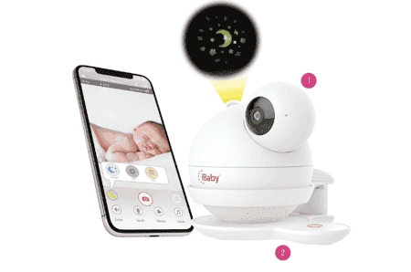 Best baby monitors in Singapore - iBaby Care M7K