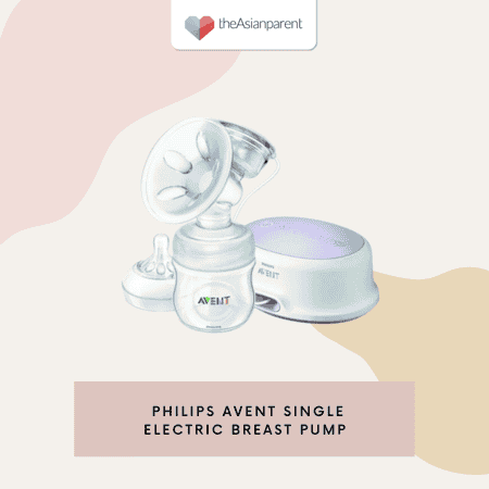 Best electric breast pumps in Singapore - Philips Avent Single Electric Breast Pump