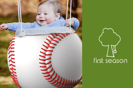 First Season Launches New Sports Baby Swings On INDIEGOGO!