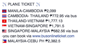 This Filipina Visited Around 5 Countries In 17 Days, Spending Only PHP15,000 (S$380) On Transportation & Hotels