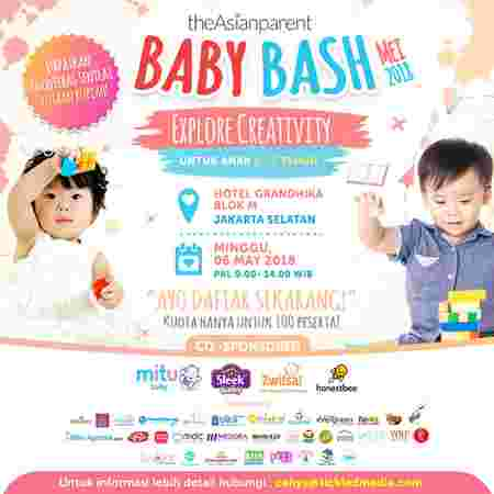 Poster Baby Bash Mei 2018.